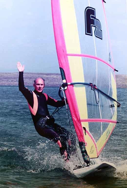 Eddy Jackson MBE Windsurfing Charity Fundraising