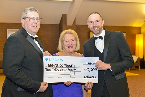 Bendrigg-Trust-Ball-Lakeland-Cheque-Presentation
