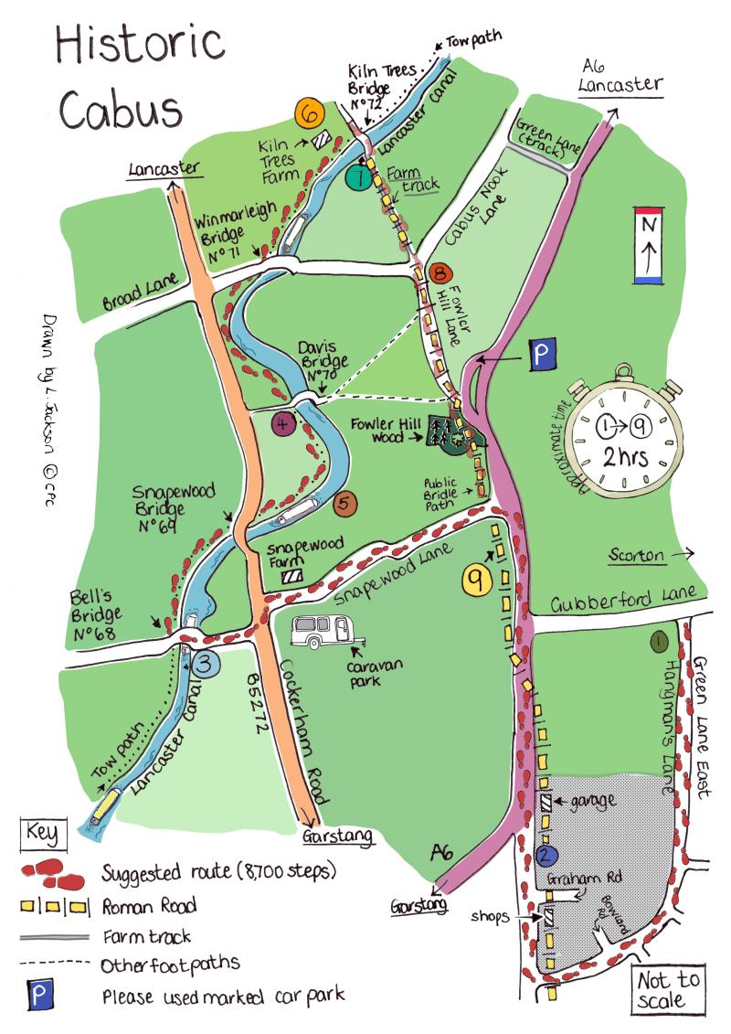 Historic Cabus Map #7
