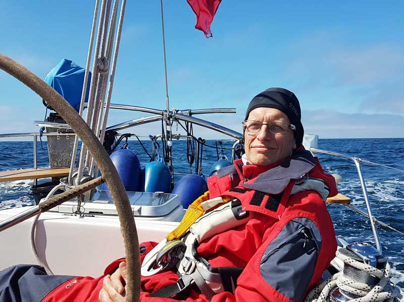 Bjorn-Lemby-sailing-North-Atlantic-Faroe-Islands-to-Shetland-on-Hallberg-Rassey-36