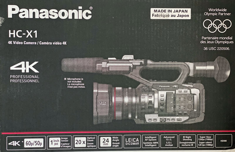 7 Batteries-HC-X!-4K-Panasonic-Video-Camera