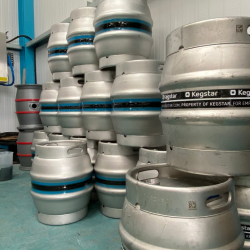 Kegs-beer-at-brewery