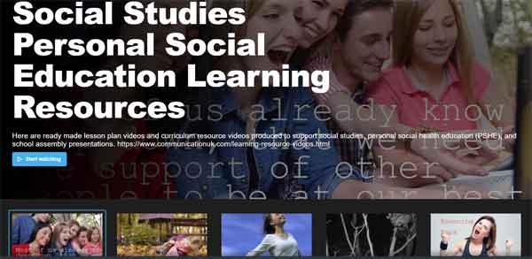 Personal-Social-Education-Social-Studies-videos